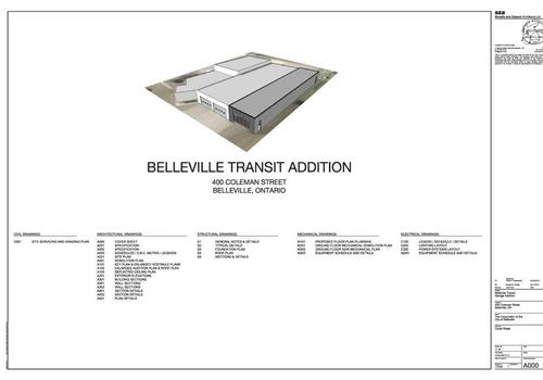 Belleville Transit Services Renovations