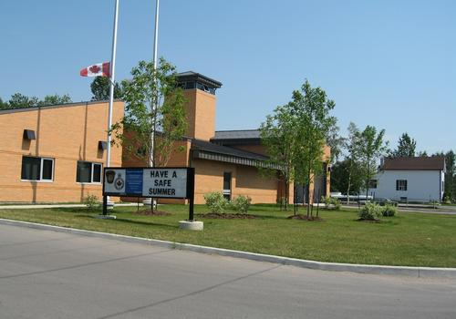 Courtice Fire Hall No. 4 & Community Policing Centre